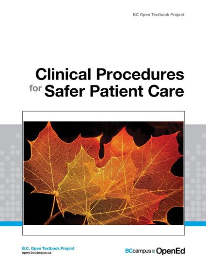 Picture of Clinical Procedures for Safer Patient Care