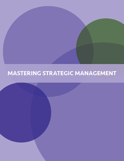 Picture of Mastering Strategic Management